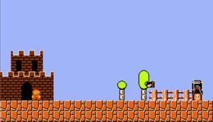 Image du jeu Super Mario Python (imitation du jeu Super Mario Bros) développé par HJ