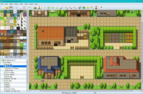 Image du logiciel RPG Maker MV.