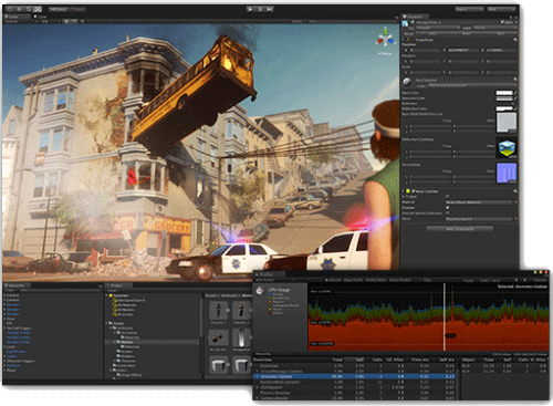 Image du Logiciel Unity 3D