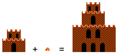 Image Super Mario Bros Chateau.