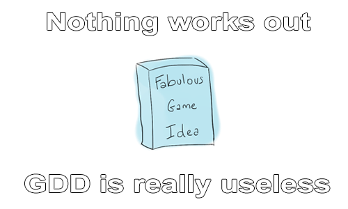 Nothing works out : GDD is really useless.