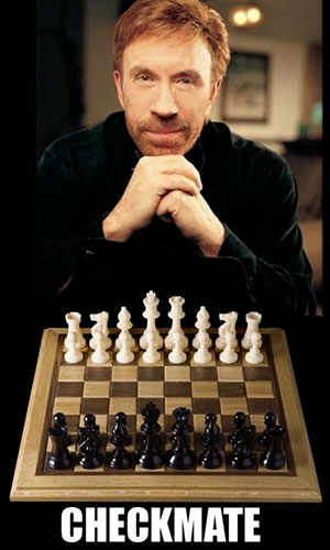 Chuck-Norris-Checkmate