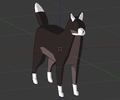 Cel-shading doge dogo