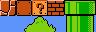 Exemple de jeu de tuiles de Super Mario Bros.