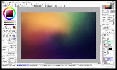 Image du logiciel Easy Paint Tool SAI